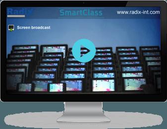 Tablet Classroom Management Software Radix
